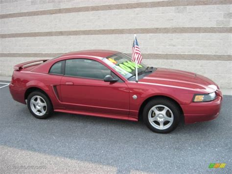 2004 mustang colors 2004 redfire metallic ford mustang v6 coupe 15523896