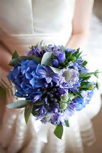 blue wedding bouquets welcome to bridal trend