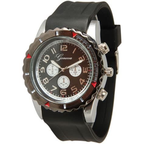 Geneva Men's Sport and Casual Watches