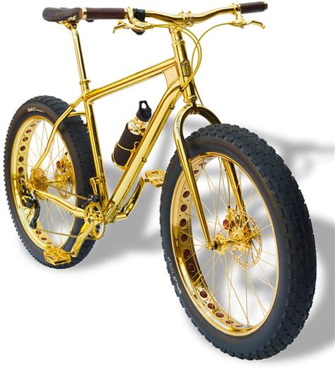 gold motorcycle the world s most expensive mountain bike made of gold