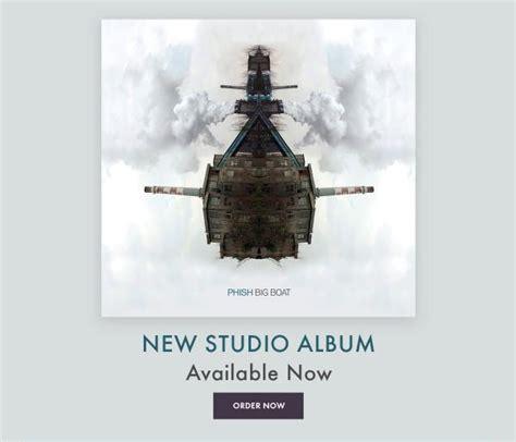 phish big boat phish release new album big boat red light management