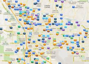 Arizona Connected Care Tucson Az Tucson Pima County Crime Map