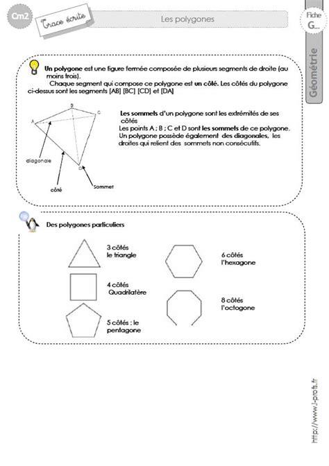 cm2: Leçon les POLYGONES carré, rectangle, quadrilateres