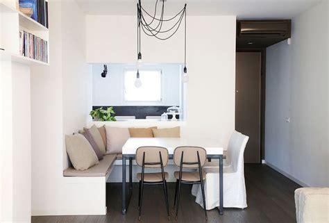 tavolo con panca ad angolo moderno come progettare la cucina con angolo pranzo in modo