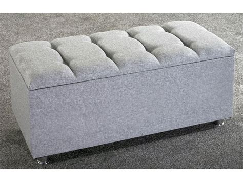 blanket box ottoman new ottoman storage blanket box linen