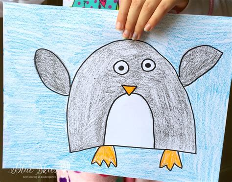 January Directed Drawings First Grade Blue Skies Penguins Pinterest January Drawings Drawing Pictures For Kindergarten