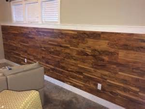 Laminate Flooring On Walls by Wainscoting Laminate Flooring On Half Wall Rooms