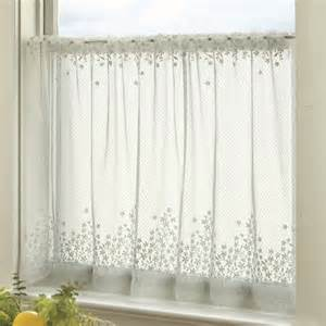 tier curtains modern heritage lace blossom tier modern curtains by hayneedle