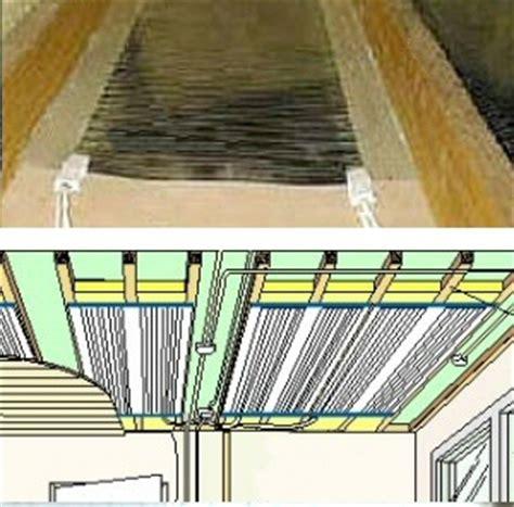 chauffage radiant plafond radiateur rayonnant plafond