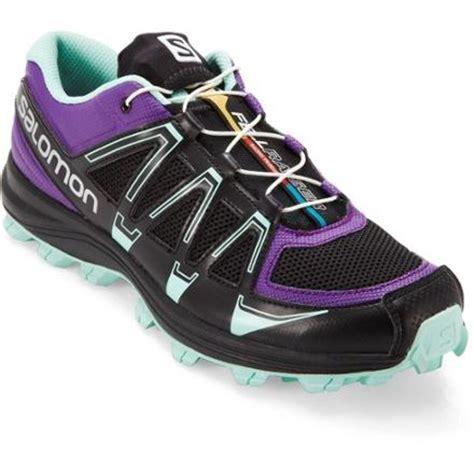 rei womens trail running shoes salomon fellraiser trail running shoes s rei