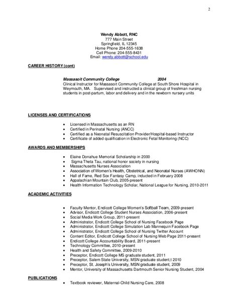 Resume Exle For College Student In No Experience Exle Resume Antepartum Resume Exle