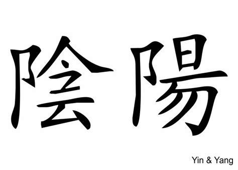 wandtattoo yin amp yang chinesisch schriftzeichen