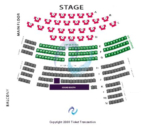 v theater seating chart american v theater tickets american january