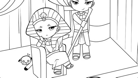 Pharaoh And Moses Coloring Pages by Moses Warned Pharaoh Coloring Pages Coloring Pages