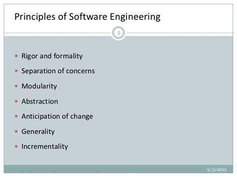 design definition in software engineering software engineering principles in system software design