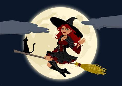 imagenes wasap bruja imagen bruja de halloween img 22969