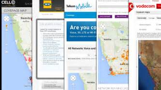 south cellphone coverage maps vodacom cell c