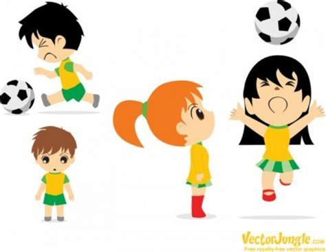 hombre de dibujos animados jugar futbol vector de stock tecknad fotboll spelare ladda ner fritt vektor