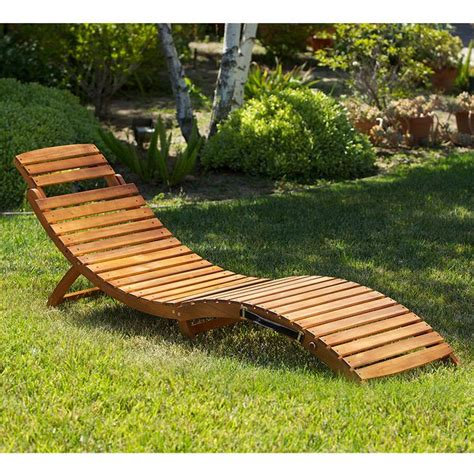 lahaina wood outdoor chaise lounge outdoor patio furniture folding portable chaise lounge