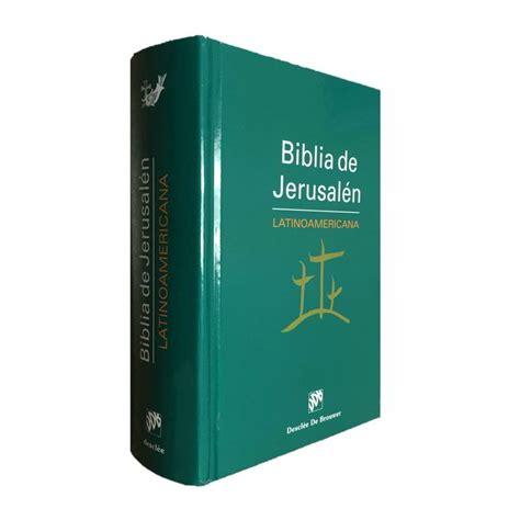 jerusaln un libro 8416295018 biblia de jerusal 233 n latinoamericana bolsillo