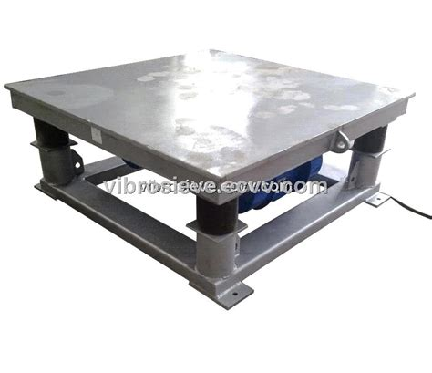zp concrete vibrating table purchasing souring