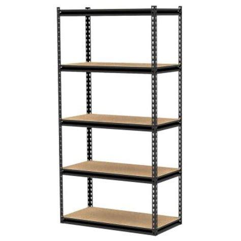 Gorilla Rack 5 Shelf 36 In X 18 In X 72 In Freestanding Gorilla Rack Shelving
