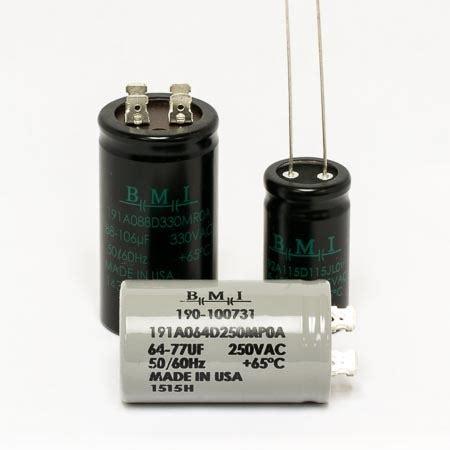 bmi capacitor 091a 191a 192a bmi caps