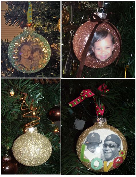 gotta make it photo ornaments inspireme crafts
