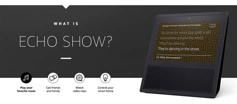 amazon echo series add a voice to your home with amazon s new amazon echo show is a 229 touchscreen assistant for your
