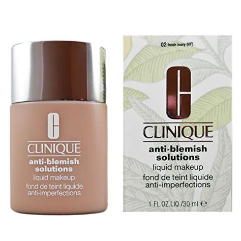 Clinique Acne Solutions Foundation clinique liquid makeup no 02 fresh ivory foundation for