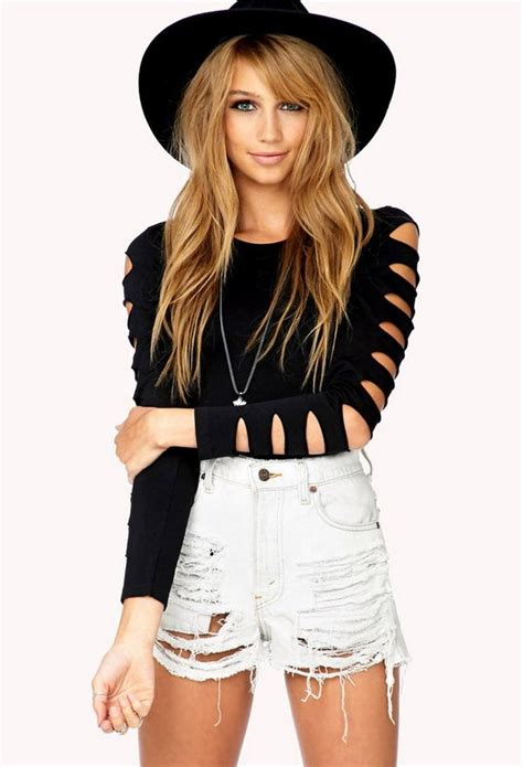 Shoulder Cut Out Shirt 25 diy t shirt cutting ideas for hative