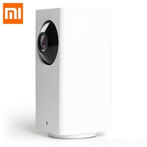 Xiaomi Dafang Smart 1080p Wifi Ip With 120 Degree Fov xiaomi mijia dafang smart home 1080p wifi ip design features review