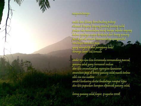 membuat puisi yang bertema keindahan alam puisi tentang alam untuk peduli terhadap alam informasi
