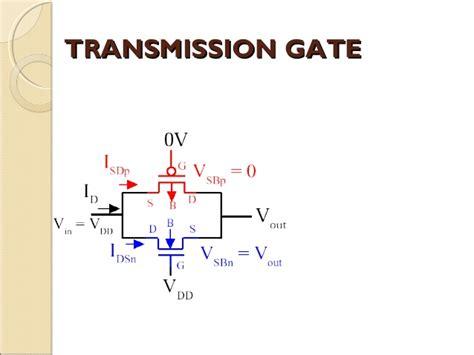 pass transistor transmission gate pass transistor logic