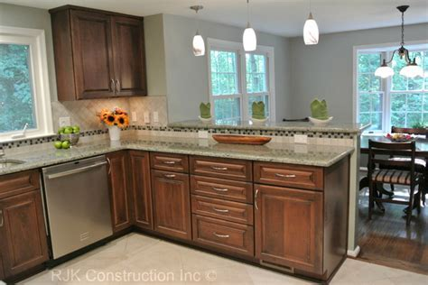 U Shaped Kitchen Remodel   Contemporary   Kitchen   dc metro   by RJK Construction Inc