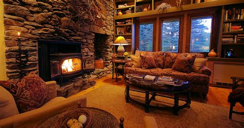 Kitchen Nook Table Ideas by Killington Vermont Mountain Cabin