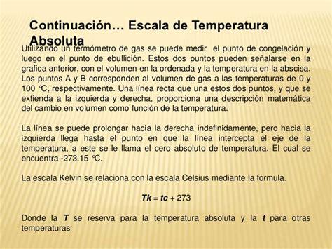 cual es la escala en el aumento de salario temperatura y dilatacion