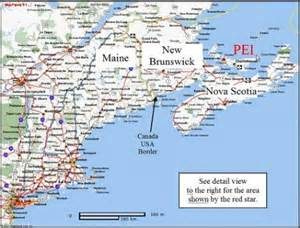 canada maritimes map large scale map showing where pei is located in canadian