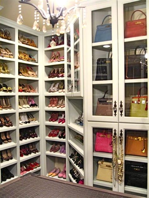 shoe and purse storage closets design chic design chic