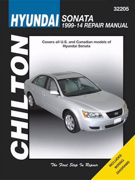 online auto repair manual 1999 hyundai sonata security system hyundai sonata repair service manual 1999 2014 chilton 32205