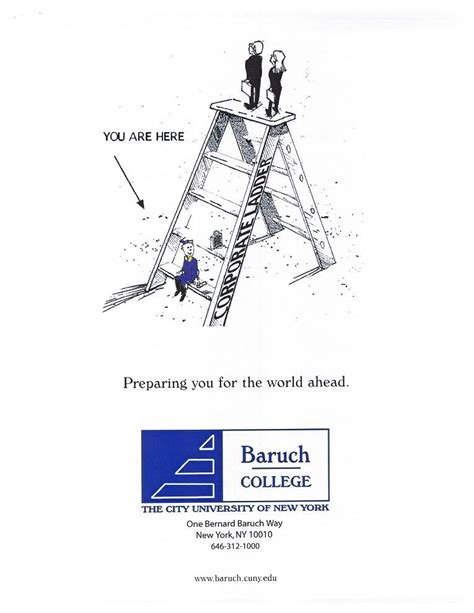 Baruch College Letterhead Corporateidentity Pinkykarelia