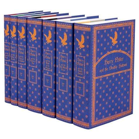 The Book Of Set complete harry potter book set in custom jackets juniper books