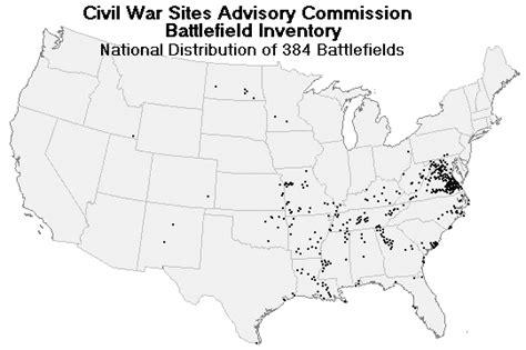 civil war usa map american civil war all states map of battles