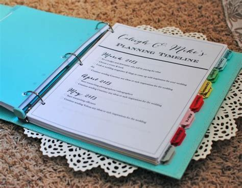 25  best ideas about Wedding Planner Binder on Pinterest