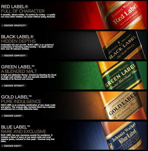 johnny walker colors 8 best my favorite quot single malt scotch quot images on