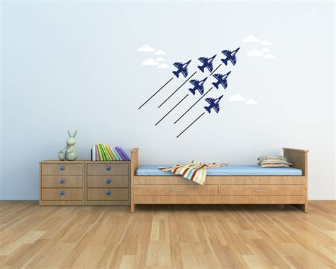 Airplane Wall Decals For Nursery Thenurseries Airplane Wall Decals For Nursery