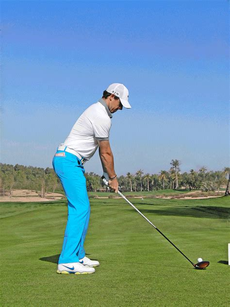 rory mcilroy driver swing rory s swing down the line today s golfer