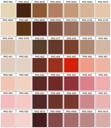 pantone pms colors chart color matching for powder coating part 7