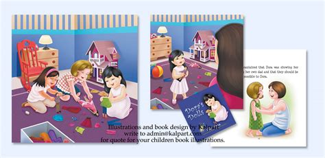 story book layout design book design and layout children caricature from photo