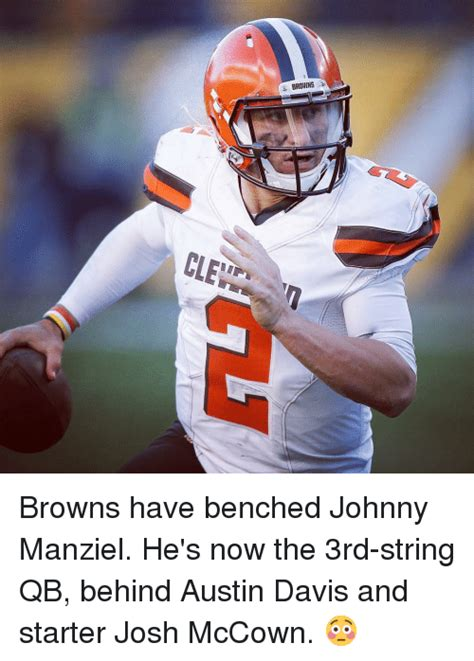 manziel benched funny johnny manziel memes of 2016 on sizzle drinking